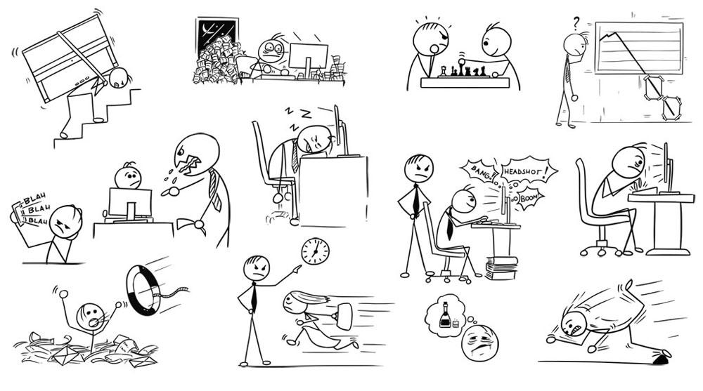 Jednoduche Komiksove Kresby Zdenek Sasek